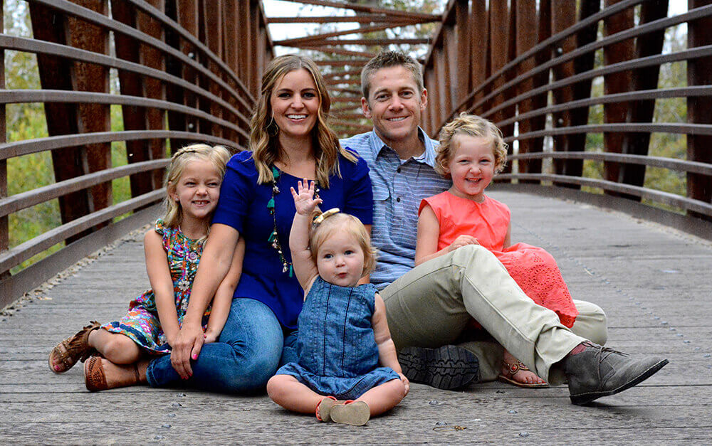 Dr. Jayson Clark with his family